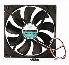 140mm 25mm New Case Fan 12V DC 74CFM CPU Computer Cooling 2wire Ball 14025 345*