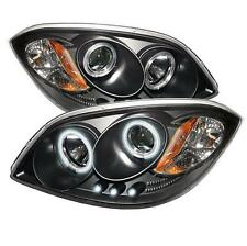 Projector Head Lights Lamps Various Chevy Pontiac 2005-2010 CCFL LED - Black
