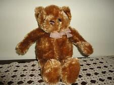 Animal Alley Toys R Us Brown TEDDY BEAR 11 inch Chiffon Bow 2009