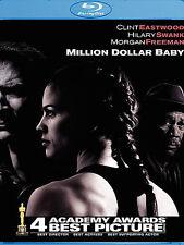 Million Dollar Baby Blu-ray 2006  Morgan Freeman Hilary Swank Clint Eastwood NEW