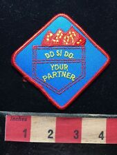 Do Si Do Blue Jean Pocket Dance PATCH ~ Square Dancing Country Dance 62T2