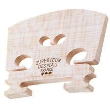 Genuine Aubert Violin Bridge Maple Wooden Color for 4/4 Size Violin Accessory