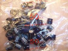 QTY (50)  470uf 35V (16x15mm) RADIAL ALUMINUM ELECTROLYTIC UVS1V471MCA NICHICON