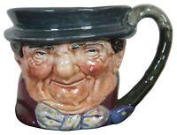 Vintage Royal Doulton China Tony Weller A Mark Character Toby Jug Mug Medium