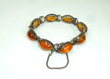 Bracelet 835er Silver/Amber 1920er Years
