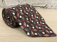 "Robert Talbott Best of Class Geometric Diamonds Men's Neck Tie 3.75""W x 59""L"