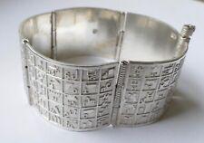 Armreif Ägypten Pharao Silber Vintage 70er bangle silver