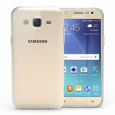 For Samsung Galaxy J5 2015 Clear Transparent Thin Silicone Soft Gel Case Cover