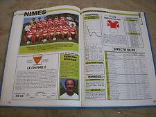 FOOTBALL COUPURE LIVRE PHOTO MRBT41 20x10 D2 GrB NIMES OLYMPIQUE 1988/1989