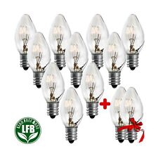 7 Watt Night Light Replacement Bulbs - 10 Pack + 2 Free, Salt Lamps & NightLi...