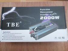 Convertisseur pure sinus  de 2000 watt a 4000 watt crete en 12 volt NEUF