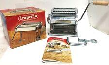 Imperia SP150 Italian Pasta Maker With Original Box, Attachments, instructions