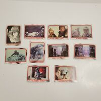 Lot of 10 Cards 1980 Topps Star Wars THE EMPIRE STRIKES BACK Series 1 #20-29