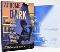 ✎✎SIGNED LTD BOOK✎✎ At Home in the Dark Lawrence Block (Joe Hill Faun) hx NEW