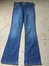 LEI Juniors Jeans Ladies Denim Boot Cut Gabrielle Curvy Medium Wash SZ 1