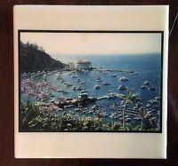 Vintage Avalon Catalina Island Decorative Hanging Art Tile 8 x 8