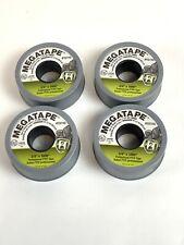 "Megatape-Professional Gray PTFE Tape 3/4"" x 1000""  3.5 MIL Thick - 4 Rolls"