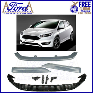 FORD FOCUS ST-LINE CONVERSION 2014-2018 MK3.5 FRONT BUMPER KIT NEW AMF1EJ-17F886
