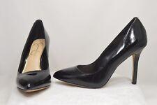 Jessica Simpson Black Patent Fashion Casual Classic Stiletto Pump Heels Size 7.5