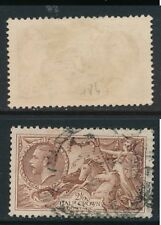 GB, 1934 2s6d re-engraved red-brown, SG Spec. N73(2) fine used cat £40 (N)