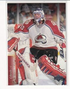 95/96 UD UPPER DECK PATRICK ROY ELECTRIC ICE PARALLEL #297