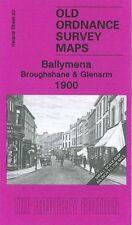 OLD ORDNANCE MAP Ballymena, Broughshane & Glenarm 1900: Irish One Inch Sheet 20