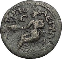 SEPTIMIUS SEVERUS 193AD Amphipolis Macedonia Authentic Ancient Roman Coin i41495