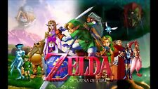 Poster 42x24 cm The Legend Of Zelda Ocarina Of Time Sheik Link 05