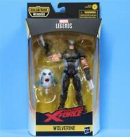"""WOLVERINE X-Force Marvel Legends 6"""" Action Figure Wave 1 Wendigo BAF"""