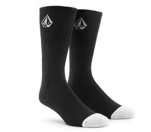 Volcom Full Stone Black 3 Pack Socks