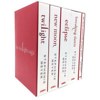 Stephenie Meyer Twilight Saga Collection 5 Books Box Pack Set Breaking Dawn NEW