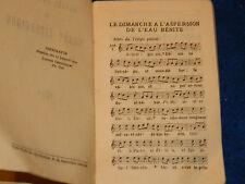 1934 MANUEL de CHANT populaire LITURGIQUE religieux MARSEILLE publiroc LATIN
