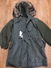 NEW DIESELS W HERMES FUR JACKET SIZE M Olive Green MENS Clothing Supreme