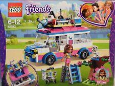 LEGO Friends 41333 Olivias Rettungsfahrzeug Roboter Leiter Katze Baum Radar NEU