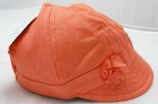 Obaidi casquette orange coton petite fleur bébé fille 6 mois 86547643bac