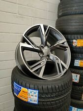 18 alloy wheels Audi a3 a4 a5 a7 a6 a8 Tt Vw Seat Skoda rs6 style Tyres 22540