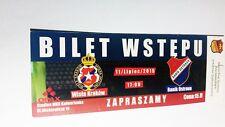 used ticket WISLA Krakow - BANIK Ostrava 11.07.2015
