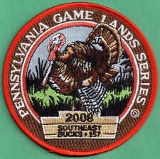 Pa Game Commission 2008 Wilderness Edition Pennsylvania Game Lands Turkey Patch