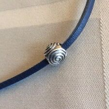 Authentic Trollbeads Silver Spiral 11241