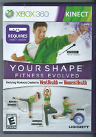 Your Shape: Fitness Evolved (Microsoft Xbox 360, 2010) (Complete w/ Manual) 🎉🎉