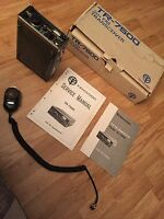Kenwood TR-7500 2M FM Transceiver Ham Radio Untested In Box With Service Manual