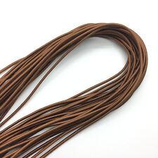 5yds Brown Trong Elastic Bungee Rope Shock Cord Tie Down DIY Jewelry Making