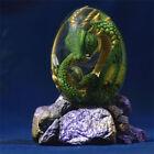 Crystal Transparent Resin Statue Dragon Egg Lava Dinosaur Souvenir Ornament Gift