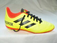 Adidas Predator 18.4 FxG Junior Soccer Cleats sz 3 youth Solar Yellow Db2321