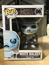 FUNKO POP WHITE WALKER GAME OF THRONES #06 AUTHENTIC BRAND NEW IN HAND