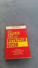 New Calorie fat and nutrition guide