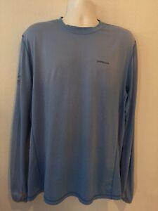 Patagonia Adult Large Rash Guard UV Fishing Shirt Florida Keys Outfitters  ~13~