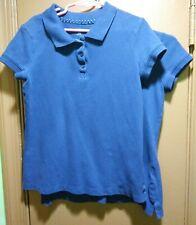 2-Old Navy, Girls Purple Polo School Uniform Shirts, Size M(8)