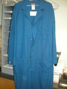 Bulwark FR M-RG UNI-SEX FR Nomex Lab Coat Blue KNL6RB3 5.6 ATPV Very Good