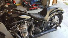 Harley-Davidson Slim Softail, Fastback W/Backrest Blackline Seat C&C Sleek HD